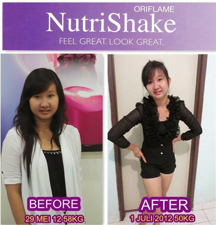 Bisnis Cantik dan Sehat Bersama Nutrishake Oriflame